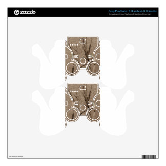 Water Reed Digital Art Decal For PS3 Controller