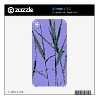 Water Reed Digital Art iPhone 4S Decal