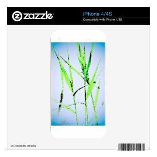 Water Reed Digital Art iPhone 4 Decals