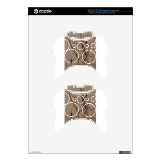 Water Reed Digital art Xbox 360 Controller Decal