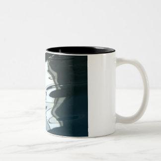 Water Reflection Two-Tone Coffee Mug