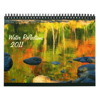 Water reflections 2011 calendar