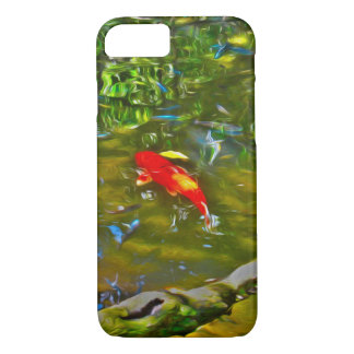 Water Reflections and the Koi Fish iPhone 7 Case