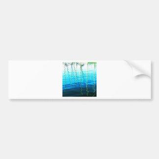 water reflections bumper sticker
