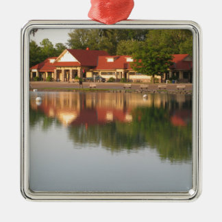 Water reflections metal ornament