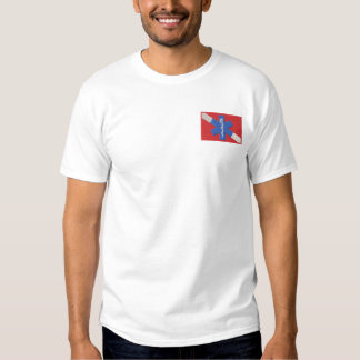 Water Rescue Embroidered T-Shirt