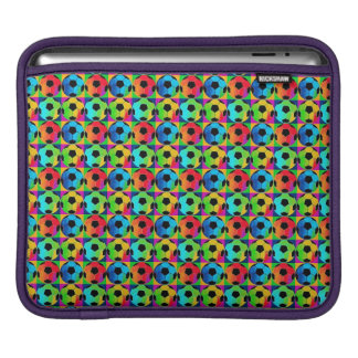 Water Resistant Colorful Soccer Balls iPad Sleeve