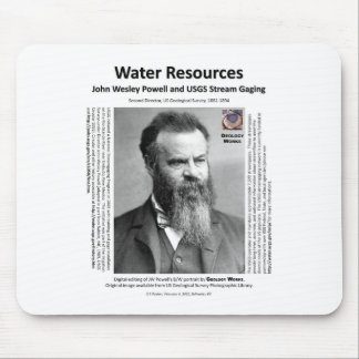 Water Resources II - John Wesley Powell Mouse Pad