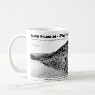 Water Resources IV - Embudo Stream Gage Classic White Coffee Mug