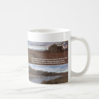 Water Resources V - Rio Grande at Albuquerque Classic White Coffee Mug