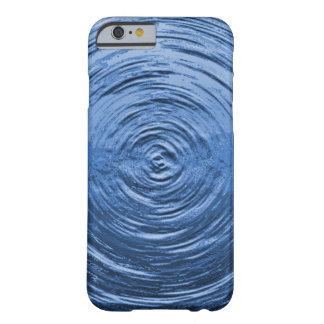Water Ripple Blue Barely There iPhone 6 Case