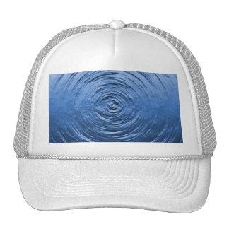 Water Ripple Blue Trucker Hat