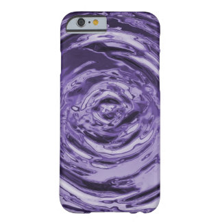 Water Ripple Purple Barely There iPhone 6 Case