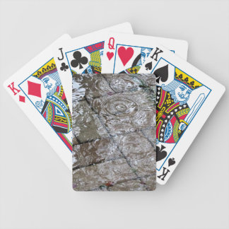 Water Ripple Rain Drop Gifts Bicycle Playing Cards