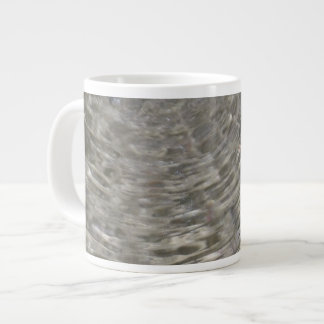 Water Ripple Specialty Mug 20 Oz Large Ceramic Coffee Mug