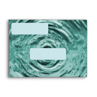 Water Ripple Teal (alternate) Envelope