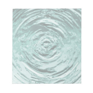 Water Ripple Teal Notepad