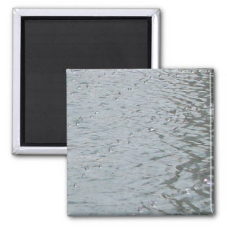 Water Ripples 2 Inch Square Magnet