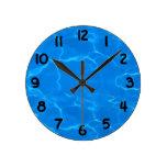 Water Ripples Pattern Clocks