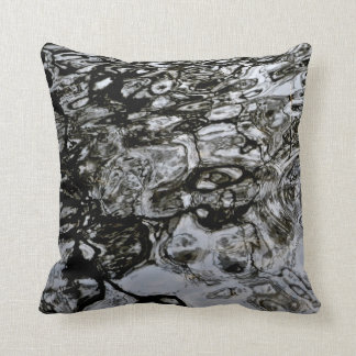 Water Ripples Patterned Pillow