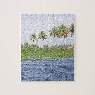 Water rippling in the coastal lagoon jigsaw puzzles
