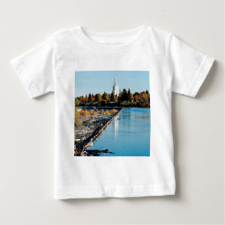 Water River City Barrier Baby T-Shirt