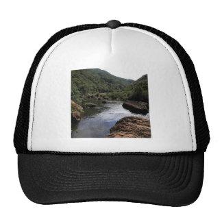 Water River Pool Lagoon Mesh Hats