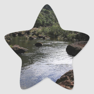Water River Pool Lagoon Star Sticker