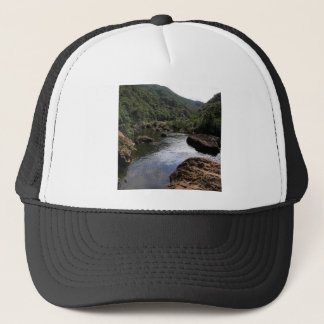Water River Pool Lagoon Trucker Hat