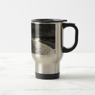 Water River Shines Under Valley Travel Mug
