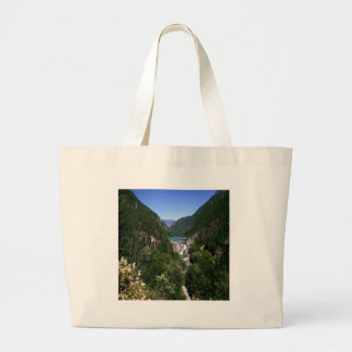 Water River Valley Dam Canvas Bag