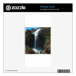 Water Rocky Mountain Extreme Falls iPhone 4S Skins