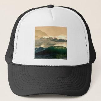 Water Rolling Tide Trucker Hat