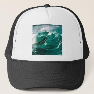 Water Rough Seas Ahead Trucker Hat