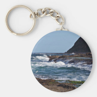 Water running back key chains