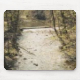 WATER RUNNING MOUSE PAD