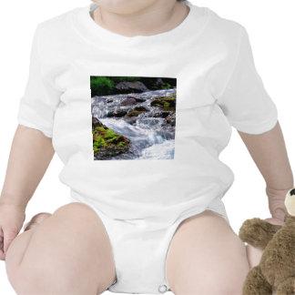 Water Rushing Georgia Island T Shirts