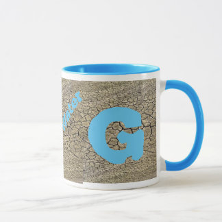 Water Saver Mug Letter G