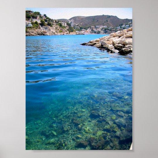 Water Scene Poster
