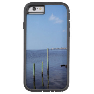 Water Scene - Wooden Post Markers Tough Xtreme iPhone 6 Case
