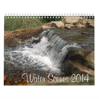 Water Scenes 2014 Wall Calendar