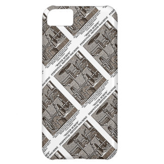 Water Screw Perpetual Motion Machine Woodcut Case For iPhone 5C