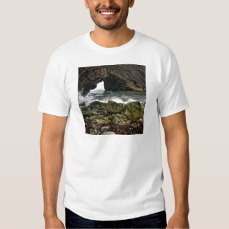Water Sea Arched Cliffs Close Up Shirt