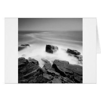 Water Sea Mist Craggs Card