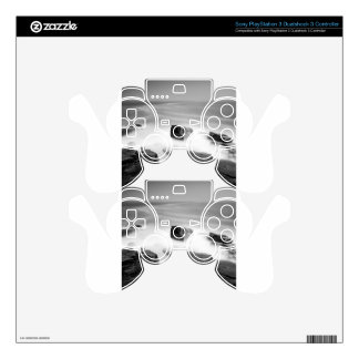 Water Sea Mist Craggs Decal For PS3 Controller