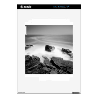 Water Sea Mist Craggs iPad 2 Skins