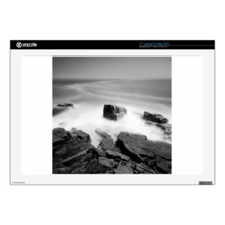 """Water Sea Mist Craggs Skins For 17"""" Laptops"""