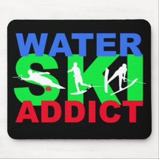 Water Ski  Addict Mousepad