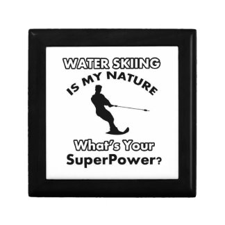water ski Design Gift Box