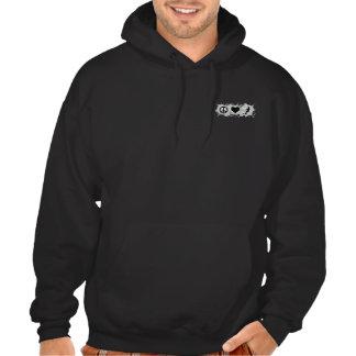 Water ski guy hooded sweatshirt